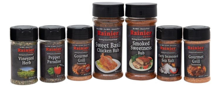 Free Rainier Foods Seasoning Sample