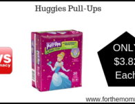 Huggies Pull-Ups ONLY $3.82 Each Starting 3/24