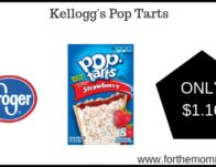 Kroger Mega Sale : Kellogg's Pop Tarts ONLY $1.16 {Reg $2.49}