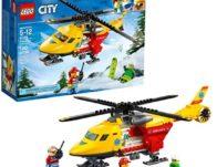 LEGO City Ambulance Helicopter Building Kit $11.99 {Reg $20}