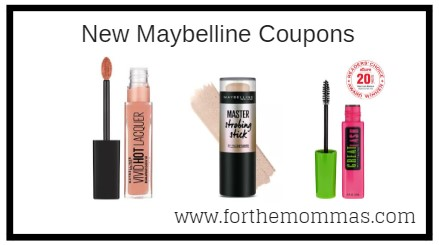 graphic about Maybelline Coupons Printable named Fresh Maybelline Coupon Help save $5.00 - FTM