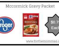 Kroger: Mccormick Gravy Packets ONLY $0.75 {Reg $1.00}