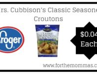Mrs. Cubbison's Classic Seasoned Croutons ONLY $0.04 {Reg $1.79}