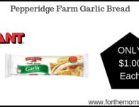 Giant: Pepperidge Farm Garlic Bread Just $1.00 Each Starting 3</body></html>