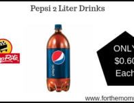 ShopRite: Pepsi 2 Liter Drinks JUST $0.60 Each Starting 3/20!