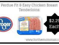 Kroger: Perdue Fit & Easy Chicken Breast Tenderloins ONLY about $2.29
