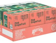 Perrier Sparkling Mineral Water 30-Pack ONLY $11.49