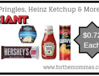 Giant: Pringles, Heinz Ketchup & More JUST $0.72 Eac</body></html>