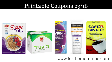 photograph regarding Allegra D Coupons Printable referred to as Latest Printable Coupon codes 03/16: Help save Upon NEUTROGENA, Raisin