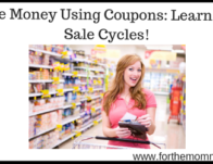Save Money Using Coupons: Learn The Sale Cycles!