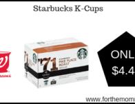 Walgreens: Starbucks K-Cups ONLY $4.44 Starting 3/17