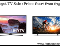 Target TV Sale : Prices Start from $79.99