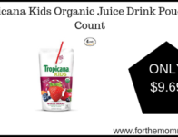Tropicana Kids Organic Juice Drink Pouch, 32 Count ONLY $9.69