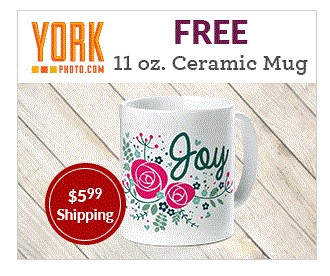 Free Photo Mug {Just Pay Shipping} – Gift for Mother's Day