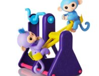 WowWee Fingerlings Playset – See-Saw with 2 Baby Monkey Toys $5.99 {Reg $40}