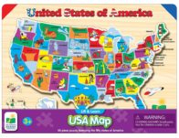 The Learning Journey Lift & Learn USA Map Puzzle ONLY $10.99 (Reg $17)