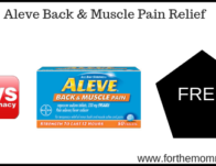 CVS: Free + Moneymaker Aleve Back & Muscle Pain Relief Starting 4/14</body></html>