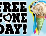 Ben & Jerry's Free Cone Day on April 9th