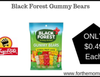 ShopRite: Black Forest Gummy Bears ONLY $0.49 Each Starting 4/7!