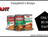 Campbell's Soups ONLY $0.50 Each Starting 9/20! {No Coupons Needed}