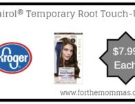 Kroger: Clairol® Temporary Root Touch-Up ONLY $7.99 {Reg $10.99}