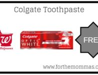 Walgreens: Free Colgate Toothpaste Starting 4/21