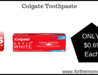 CVS: Colgate Toothpaste ONLY $0.69 Starting 4/7