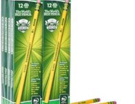Dixon Ticonderoga Wood-Cased Graphite Pencils, 96 Count $9.96 {Reg $33}