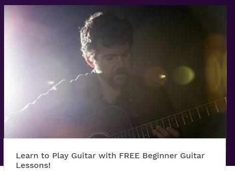Free Beginner Guitar Lessons