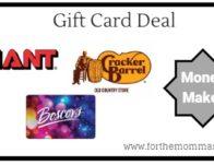 Giant: Gift Card Moneymaker Deals Starting 4/5! {10X Points}