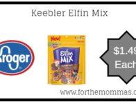 Kroger Mega Sale: Keebler Elfin Mix ONLY $1.49 {Reg $2.69}