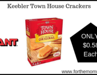 Giant: Keebler Town House Crackers JUST $0.58 Each Starting 4/5!