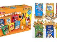 Kellogg's Breakfast Cereal, Assortment Pack (30 Count) $6.99