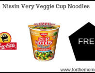 ShopRite: FREE Nissin Very Veggie Cup Noodles!