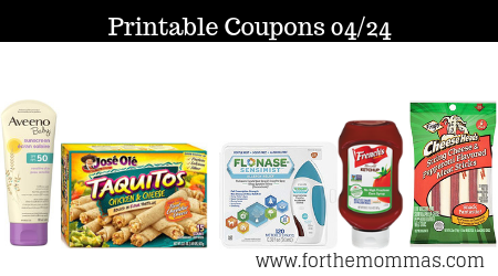 photograph about Flonase Printable Coupon named Printable Discount codes Roundup 04/24: Conserve Upon AVEENO, Frigo