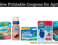 New Coupons For April Over $169 In Savings