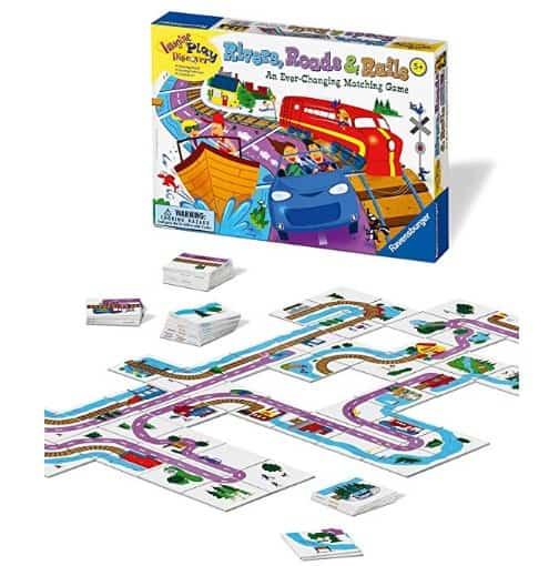 Ravensburger Rivers, Roads & Rails Game ONLY $9.99 (Reg. $22)