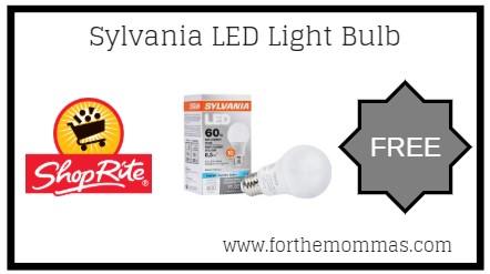 ShopRite: FREE Sylvania LED Light Bulb Product Starting 4/14!