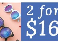 Cents of Style: Buy 2 Sunglasses for $16