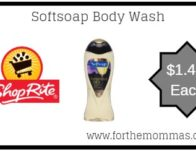 Softsoap Body Wash Just $1.49 Each Thru 4/27!
