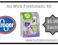 Air Wick Freshmatic Kit ONLY $5.99 {Reg $10.19}