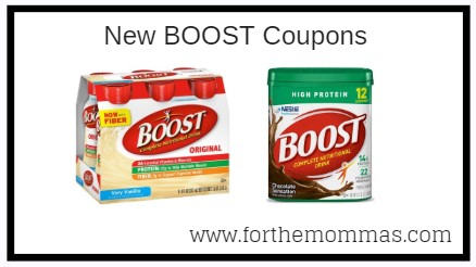 Boost Coupons | Save $3.00 On BOOST® Nutritional Drinks or Drink Mixes