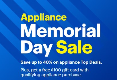 Best Buy Memorial Day Appliances Sale Up To 40 Off