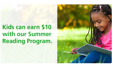 Free $10 with the TD Bank Summer Reading Program - FTM