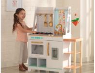 Kidkraft Boho Bungalow Play Kitchen ONLY $39.98