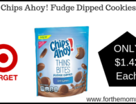 Chips Ahoy! Fudge Dipped Cookies $1.42 Thru 5/25