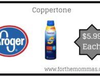 Coppertone ONLY $5.99 {Reg $8.99}