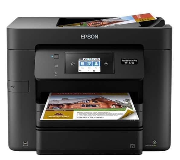 Epson - WorkForce Pro Wireless All-In-One Printer $99.99 {Reg $199.99}
