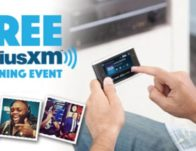 Free SiriusXM Listening Event