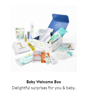 Free Walmart Welcome Baby Registry Box